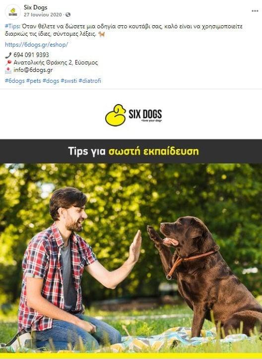 six dog post 1 facebook